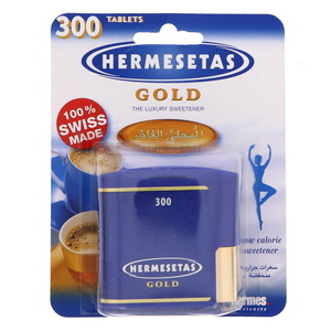 Hermesetas Gold The Luxury Sweetener 300 Tablets
