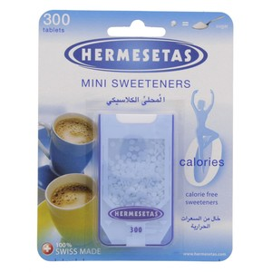 Hermesetas Mini Sweeteners Tablets  300pcs