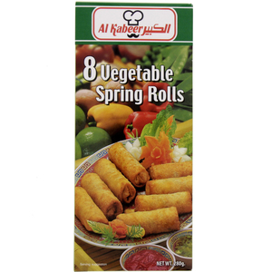 Al Kabeer Vegetable Spring Rolls 280g