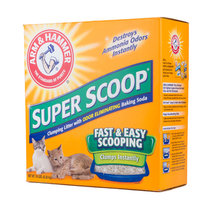 Arm & Hammer Cat Litter Super Scoop Clump.Scent 6.35kg