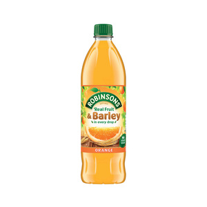 Robinsons Squash Fruit & Barley Orange 1Litre