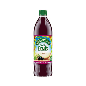 Robinsons Squash Apple & Blackcurrant 1Litre