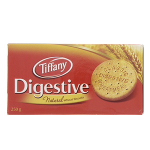 Tiffany Digestive Natural Weat Biscuits 250g