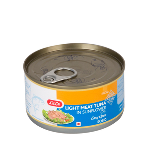 Lulu Light Meat Tuna Solid In Sunflower Oil 185g