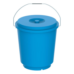 Cosmoplast Bucket With Lid EX-90 20Ltr Assorted Color