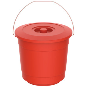 Cosmoplast Bucket With Lid EX-20 3Litre Assorted Color 1pc
