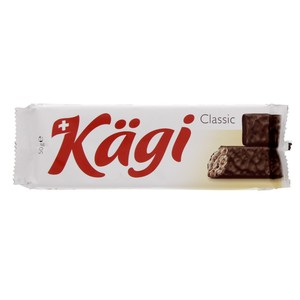 Kagi Classic Swiss Wafer Speciality Covered With Milk Chocolate 50g