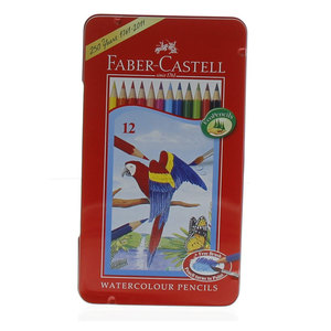 Faber Castell Water Color Pencil 12 Pieces
