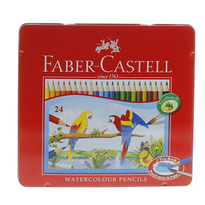 Faber-Castell Water Color Pencil 115925 24's