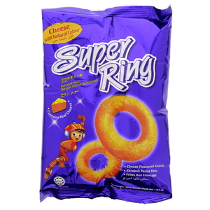 Super Ring Cheese Flavoured Snacks 60g