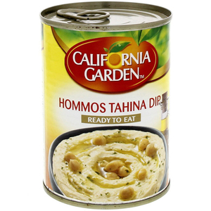 California Garden Canned Hommos Tahina Dip 400g