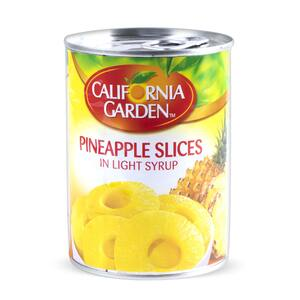 California Garden  Pineapple Slice in Light Syrup 565g