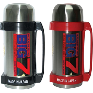 BIG-7 Steel Flask BP1200 1.2Ltr Assorted