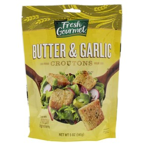Fresh Gourmet Butter and Garlic Croutons 141g
