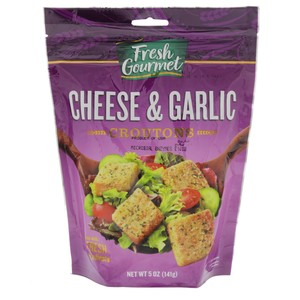 Fresh Gourmet Cheese & Garlic Croutons 141g