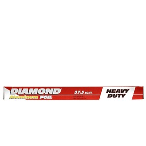 Diamond Heavy Duty Aluminum Foil Size 7.62m x 45.7cm 37.5sq.ft 1pc