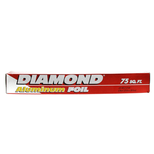 Diamond Aluminum Foil Size 22.8m x 30.4cm 75sq.ft 1pc