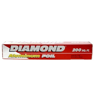 Diamond Aluminum Foil Size 60.9m x 30.4cm 200sq.ft 1pc