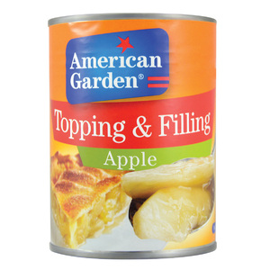 American Garden Apple Toppings & Fillings 595g