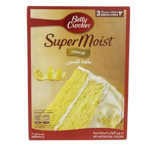 Betty Crocker Super Moist Lemon 500 Gm