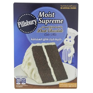 Pillsburry Moist Supreme Cake Mix Dark Chocolate 485 Gm