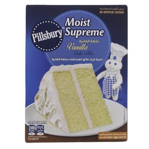 Pillsburry Moist Supreme Cake Mix Golden Vanilla 485 Gm