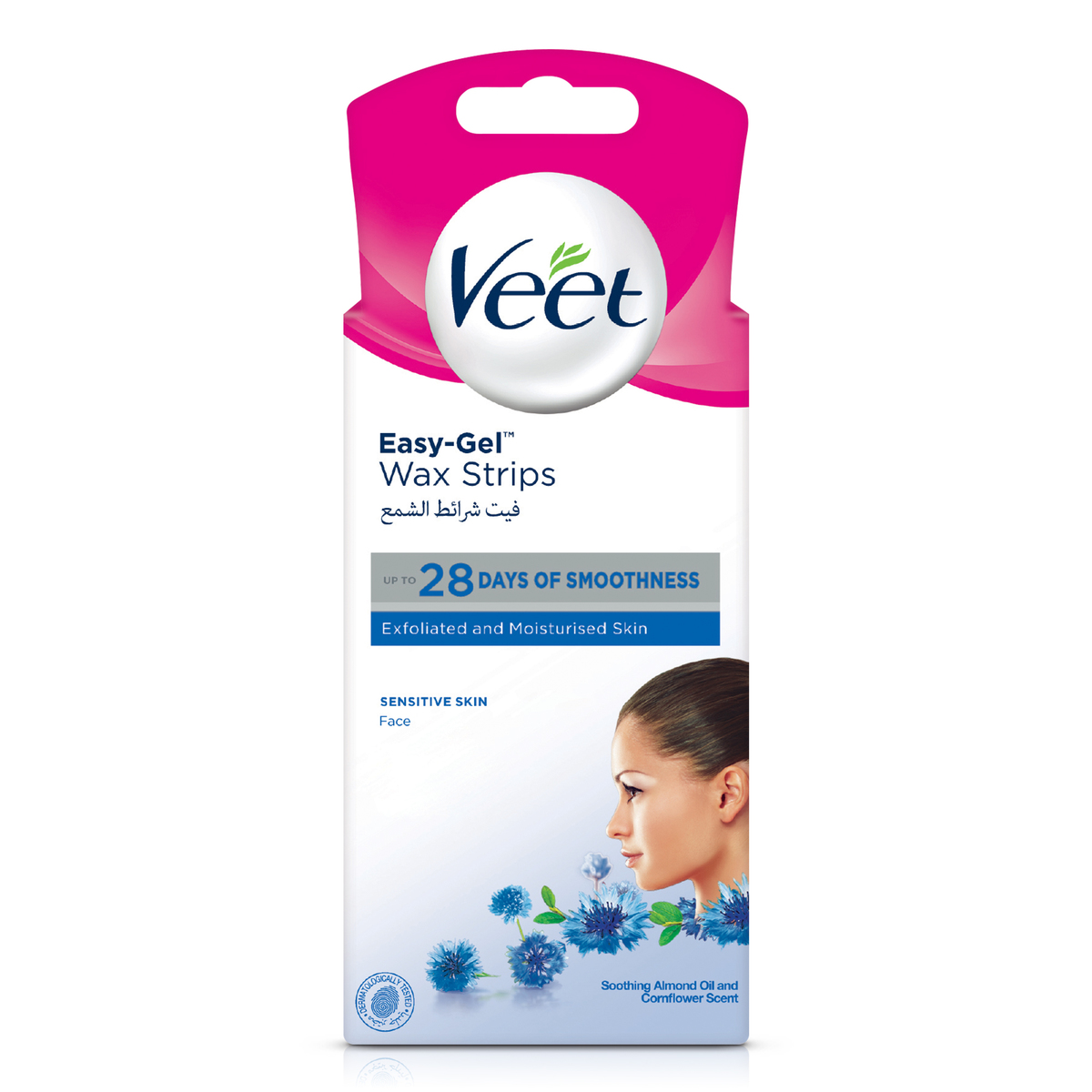 Buy Veet Hair Removal Face Hair Removal Coldwax Strips 20pcs Online Lulu Hypermarket Kuwait