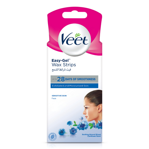 Buy Veet Hair Removal Face Hair Removal Coldwax Strips 20pcs