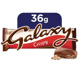 Galaxy Crispy Chocolate Bar 36g