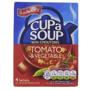 Batchelor Tomato and Vegetables with Croutons Soup 104g