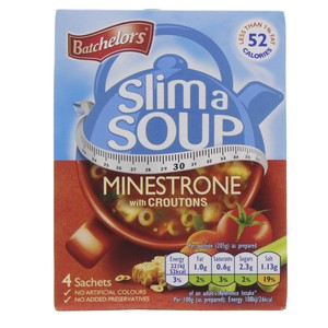 Batchelor Slim A Soup Minestrone with Croutons Soup 61g