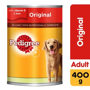 Pedigree Beef Loaf Wet Dog Food Can 400g