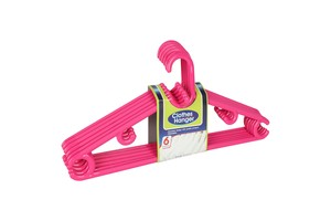 Pioneer Hangers PN740X6 6pcs Assorted Colors
