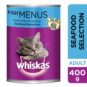 Whiskas® Seafood Selection Can 400g