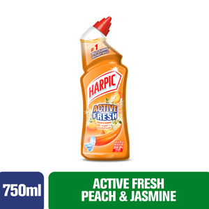 Harpic Toilet Cleaner Liquid Peach & Jasmin 750ml