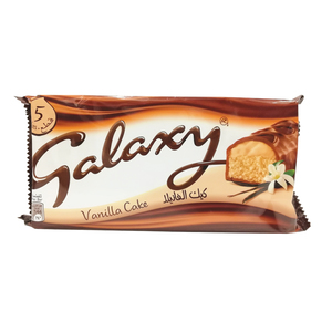 Galaxy Vanilla Cake Bar 5pcs 150g