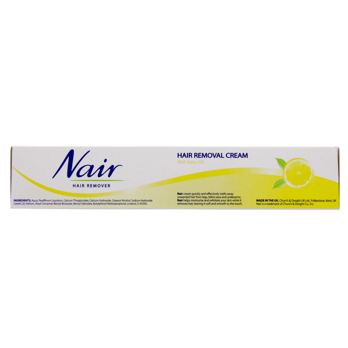 Buy Nair Hair Removal Cream For Silky And Smooth Skin Lemon