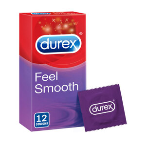 Durex Feel Smooth Condoms 12pcs