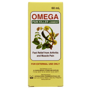 Omega Pain Killer Liniment 60 ml