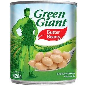Green Giant Butter Beans 410g
