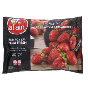 Al Ain Juicy Whole Strawberries 400g