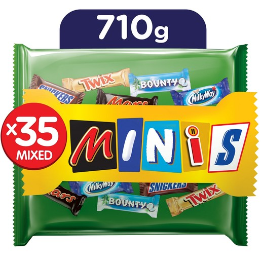 Galaxy Best Of Minis Chocolate Bag 710g