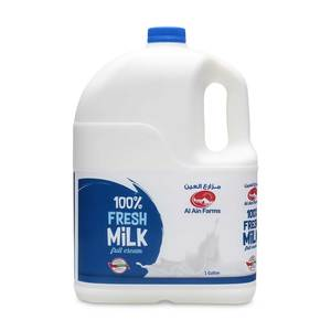 Al Ain Fresh Milk Full Cream 1 Gallon