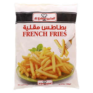 Al Kabeer French Fries 1kg