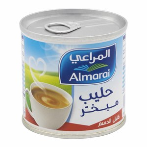 Almarai Evaporated Milk Low Fat 170g