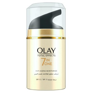 Olay Face Moisturizer Total Effects 7inOne Anti-Ageing Day Cream SPF15  with Vitamin B3 50g
