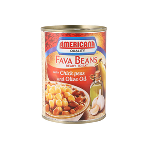 Americana Fava Beans with Chick Peas and Olive Oil 400g