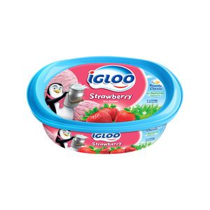Igloo Strawberry Ice Cream 1Litre