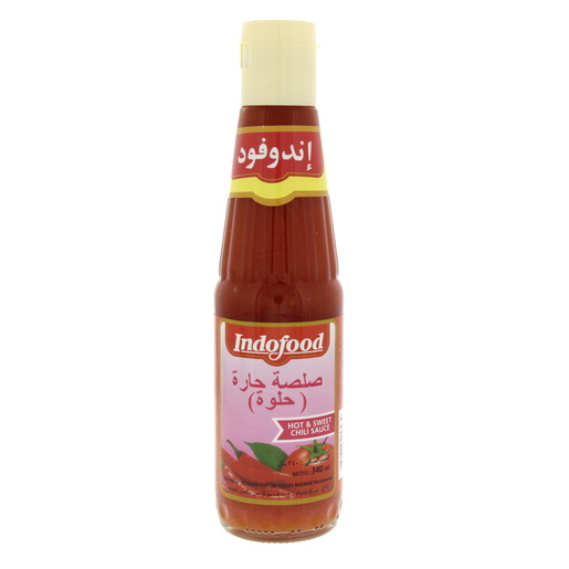 Buy Indofood Hot And Sweet Chilli Sauce 340ml Online Lulu Hypermarket Qatar