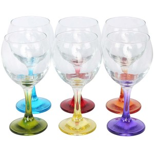 Art & Craft Coral Misket Glass 6pcs 260ml